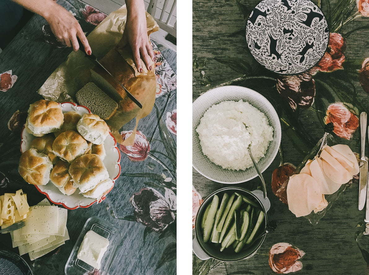 Dwór Łumbie – śniadanie