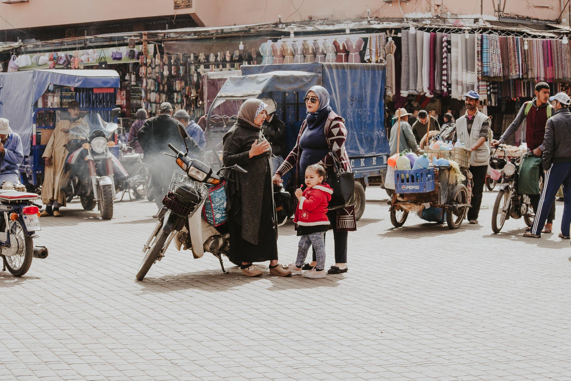 Marakesz - plac Dżamaa al-Fina