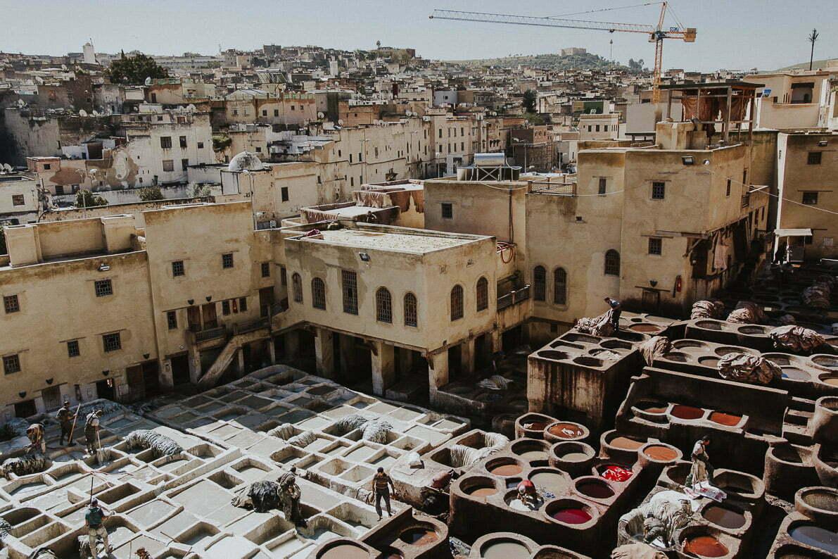Maroko - miasto Fez