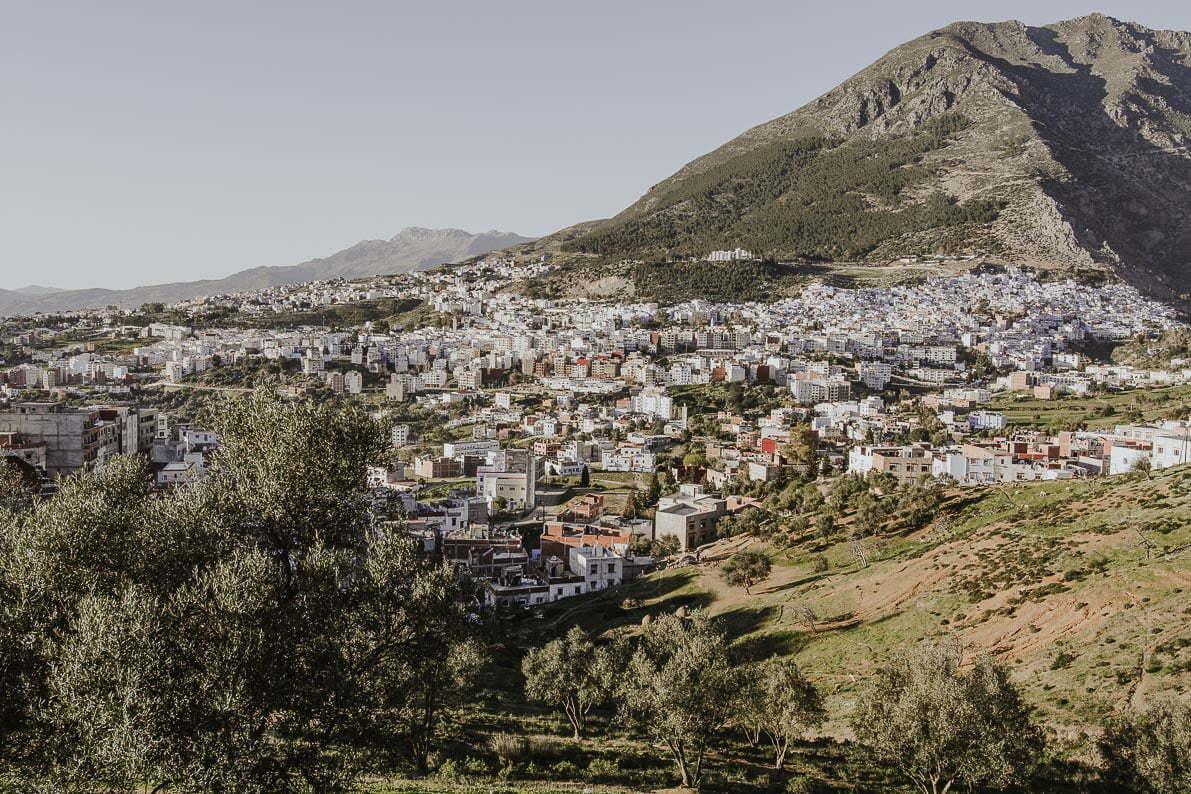 Niebieskie miasto Szafszawan