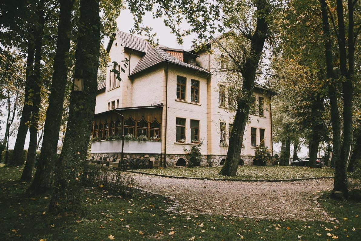 Pałac Poraj koło Łeby