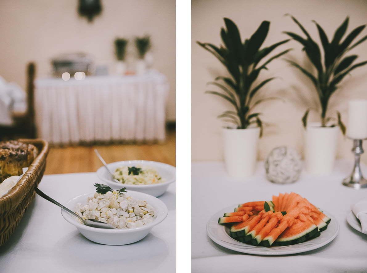 Pałac Poraj - Śniadanie