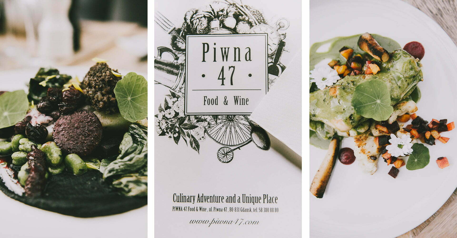 Restauracja Piwna 47 Food & Wine Bar - Danie główne