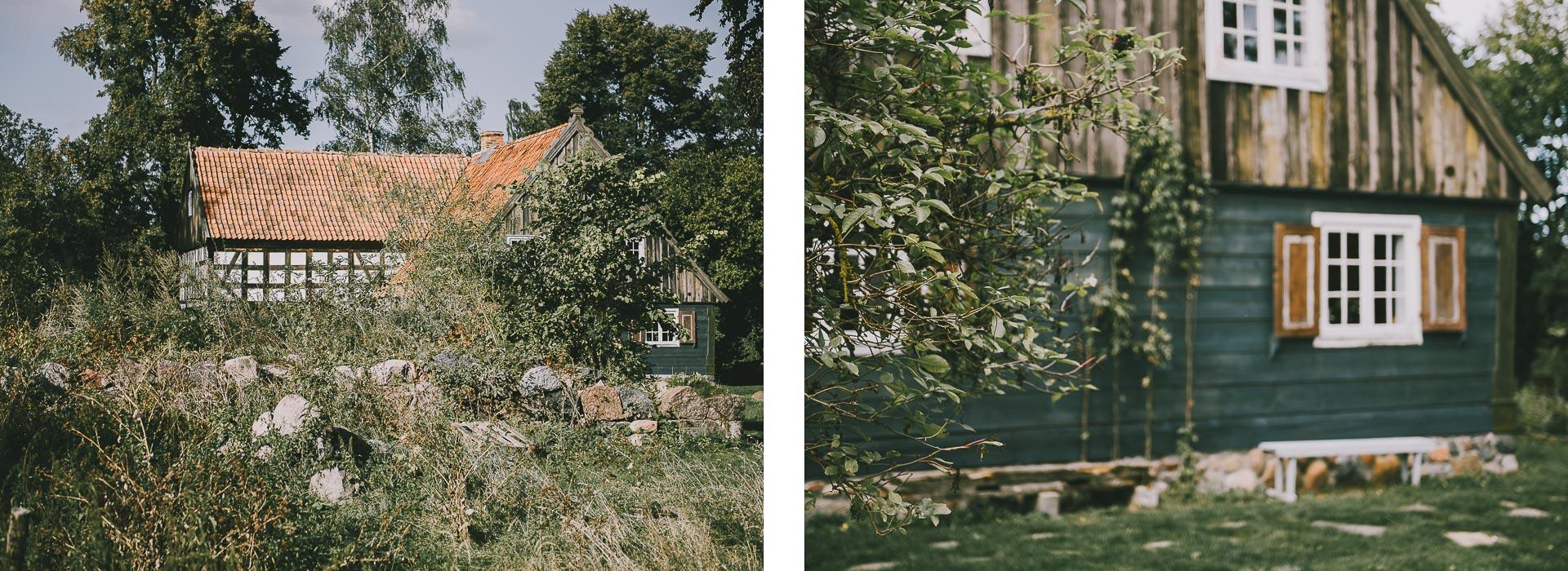 Żuławy Wiślane – szlakiem domów podcieniowych.