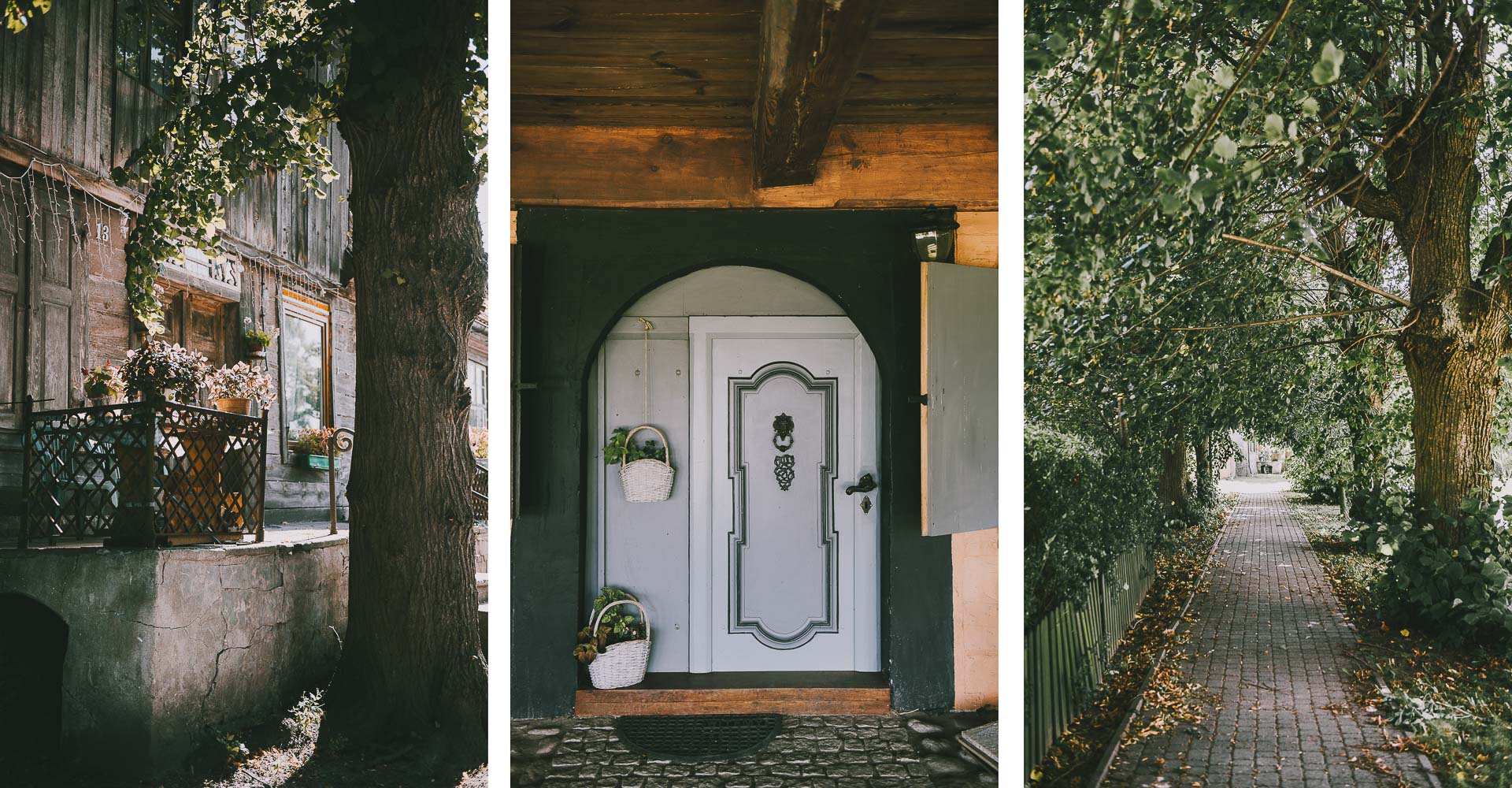 Żuławy Wiślane – dom podcieniowy