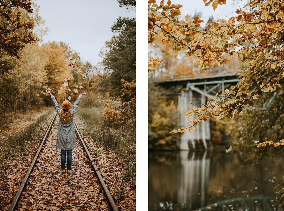 Pomysły najesienne zdjęcia - Most Rutki