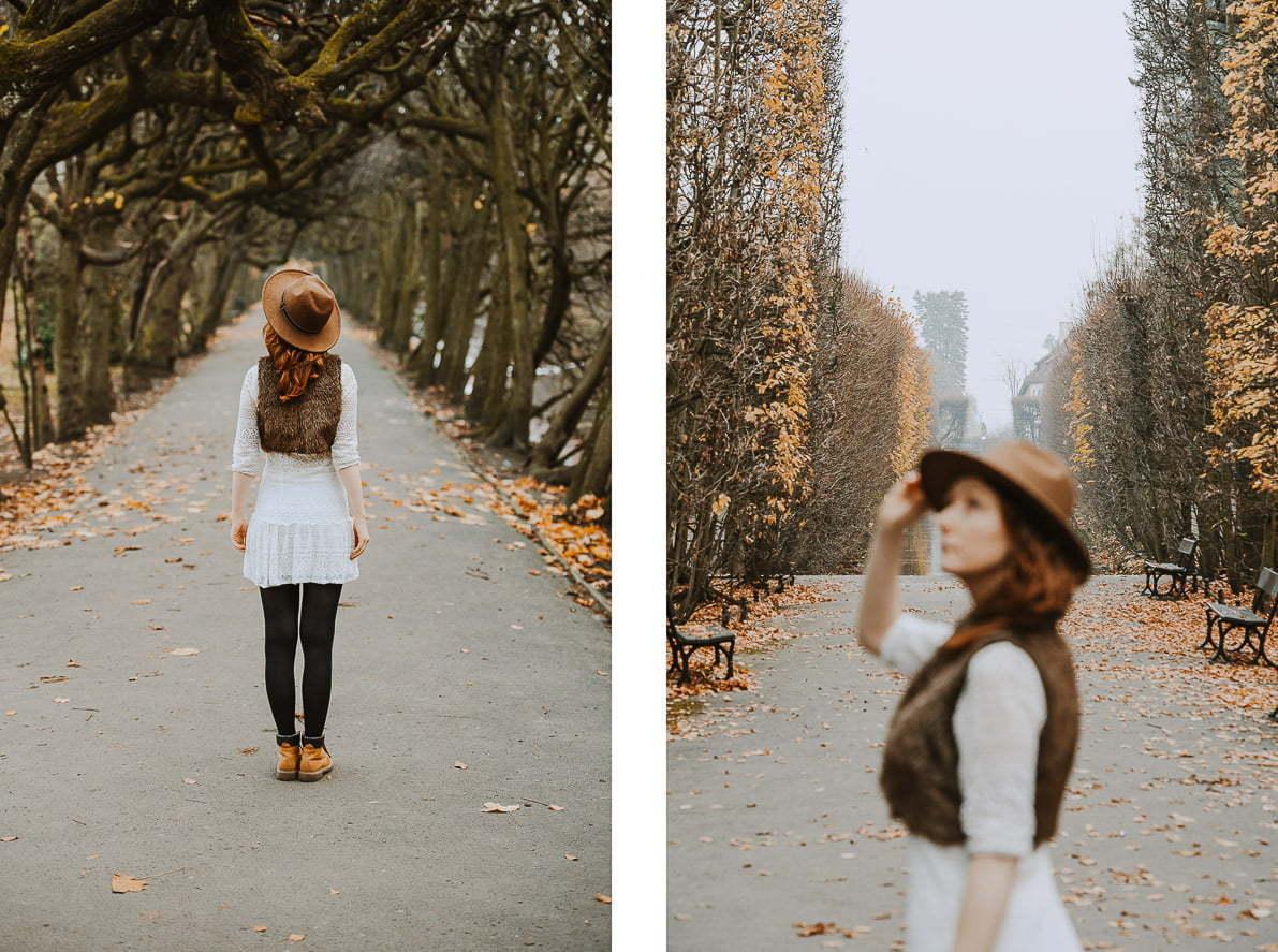 Pomysły najesienne zdjęcia Park Oliwski