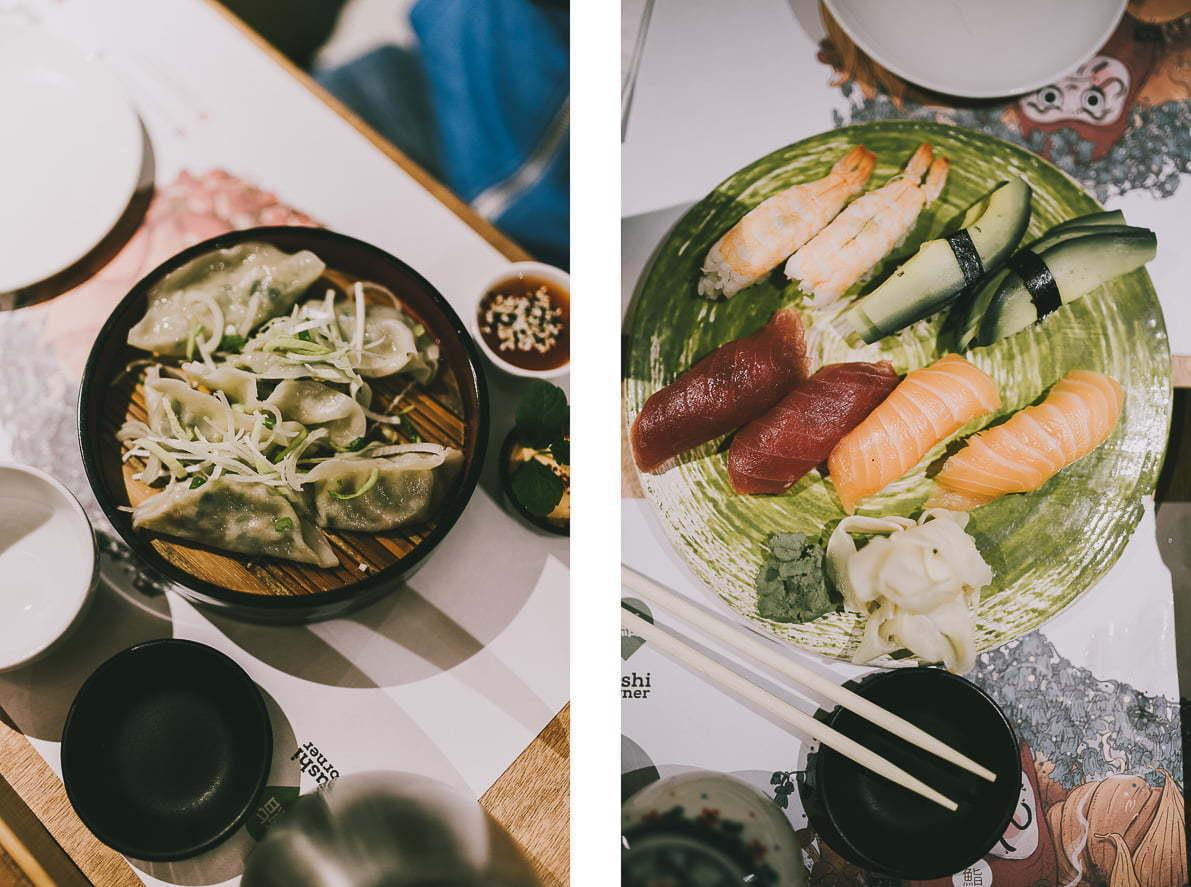 Gdzie pysznie zjeść weWrocławiu? - Sushi Corner