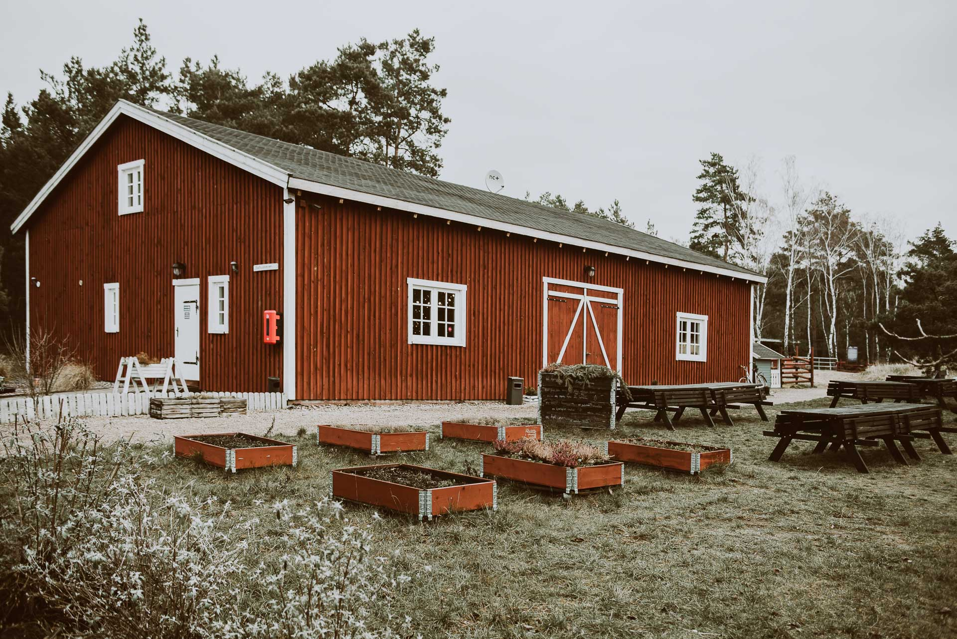 Arendel Wioska Norweska - stodoła