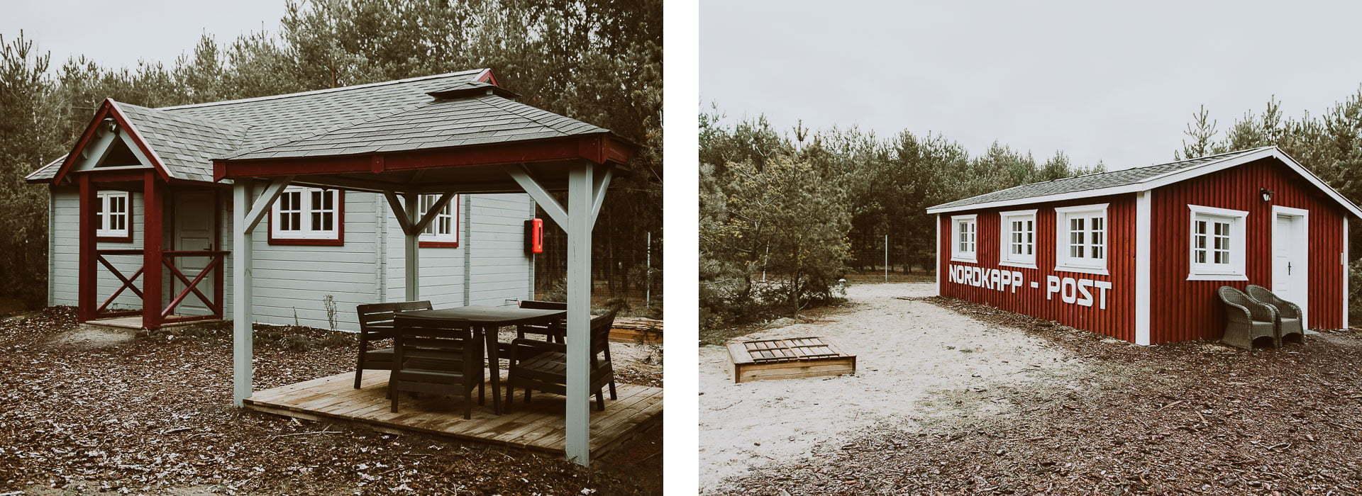 Arendel Wioska Norweska - domy
