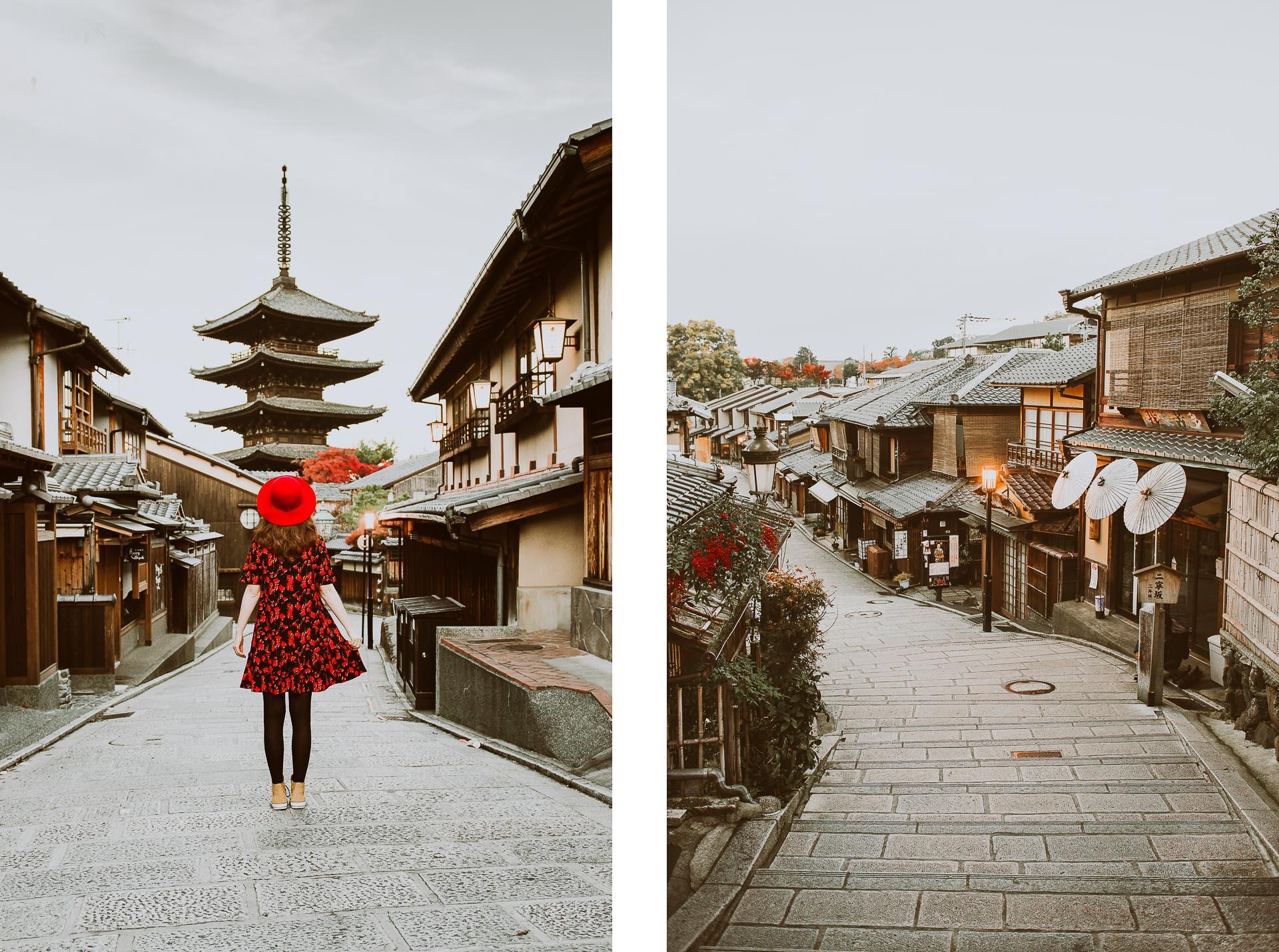 Japonia jesienią - Kioto