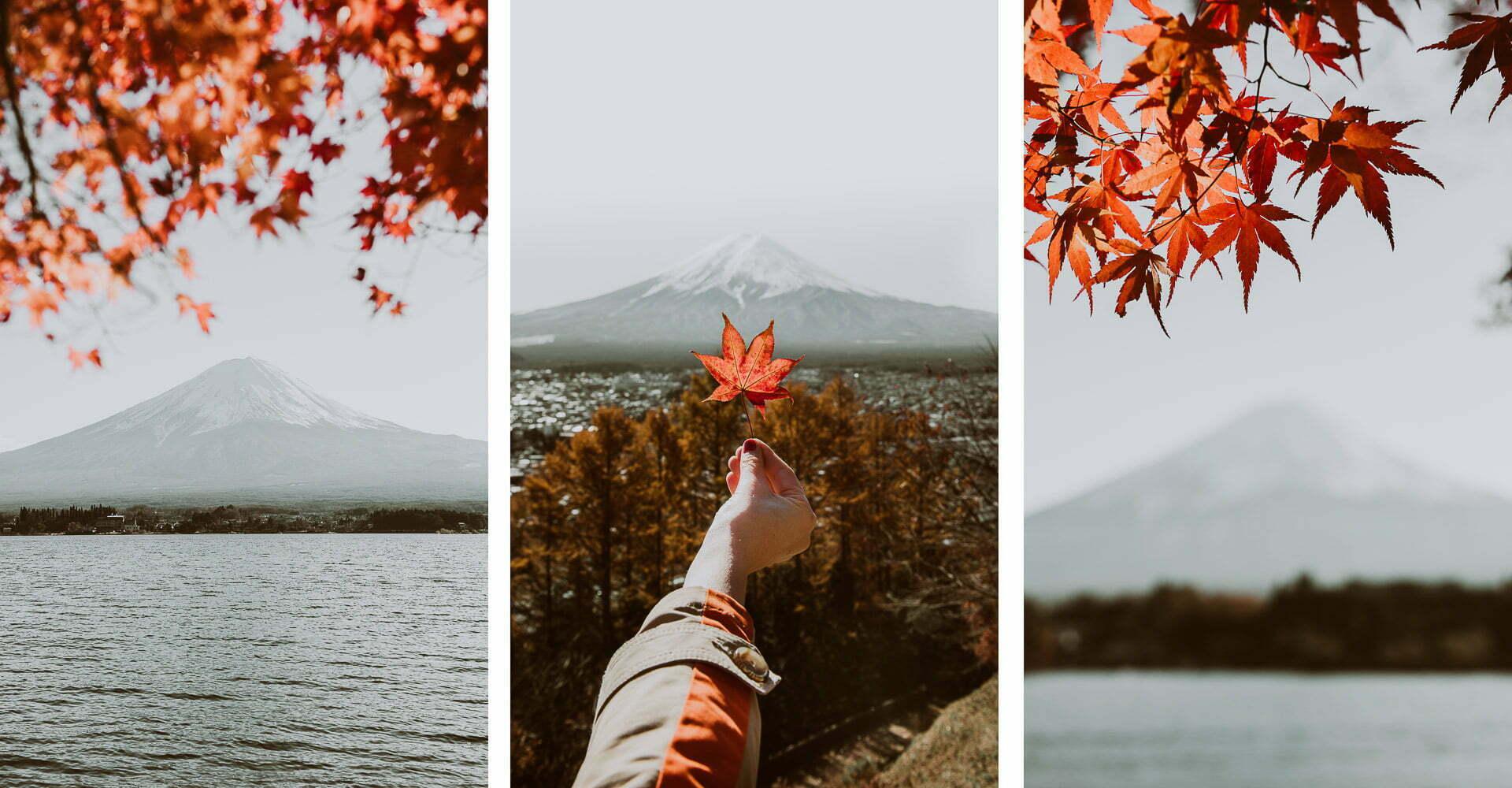 Japonia jesienią - zdjęcia Fuji