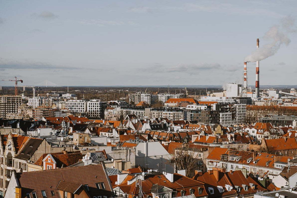 Wrocław naweekend - widok zmostu pokutnic