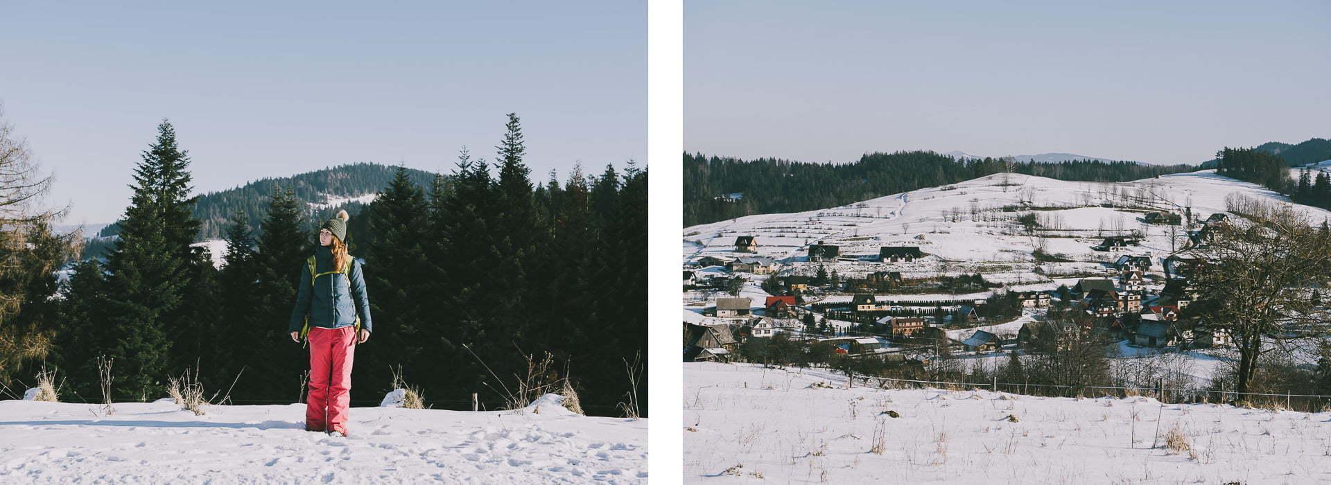 Gorce - szlak czerwony wdrodze naTurbacz.