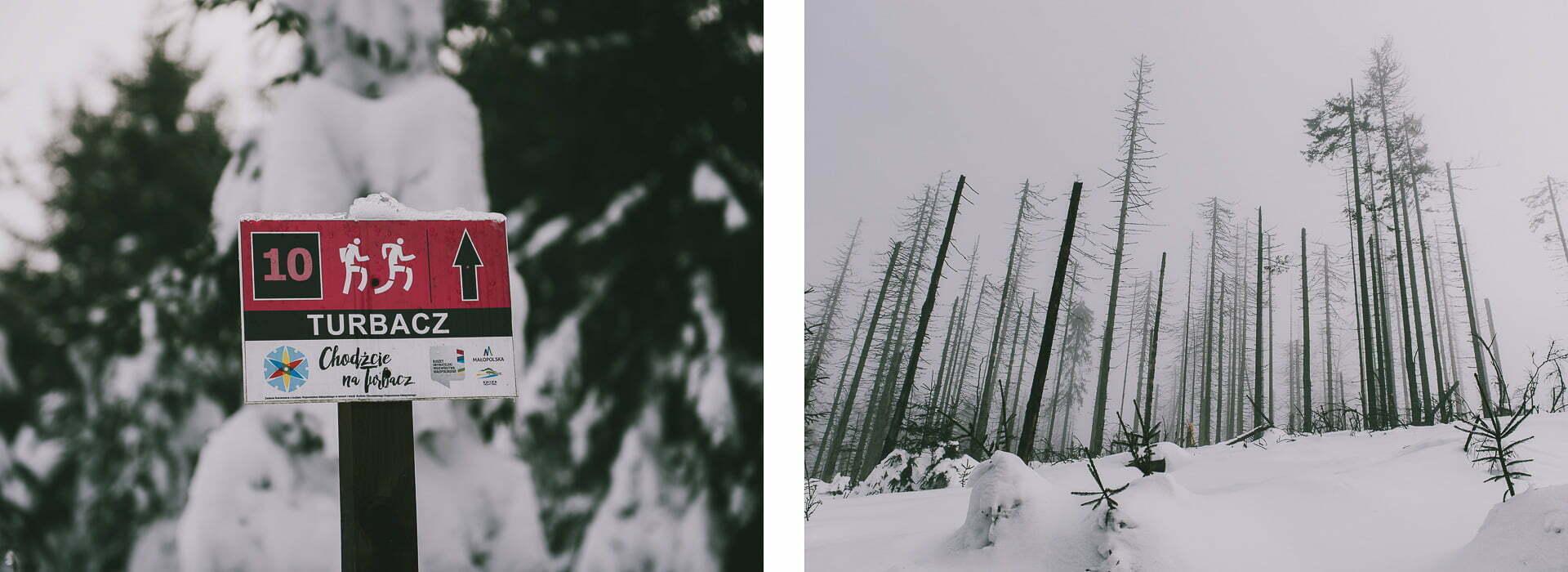 Gorce - szlak czerwony