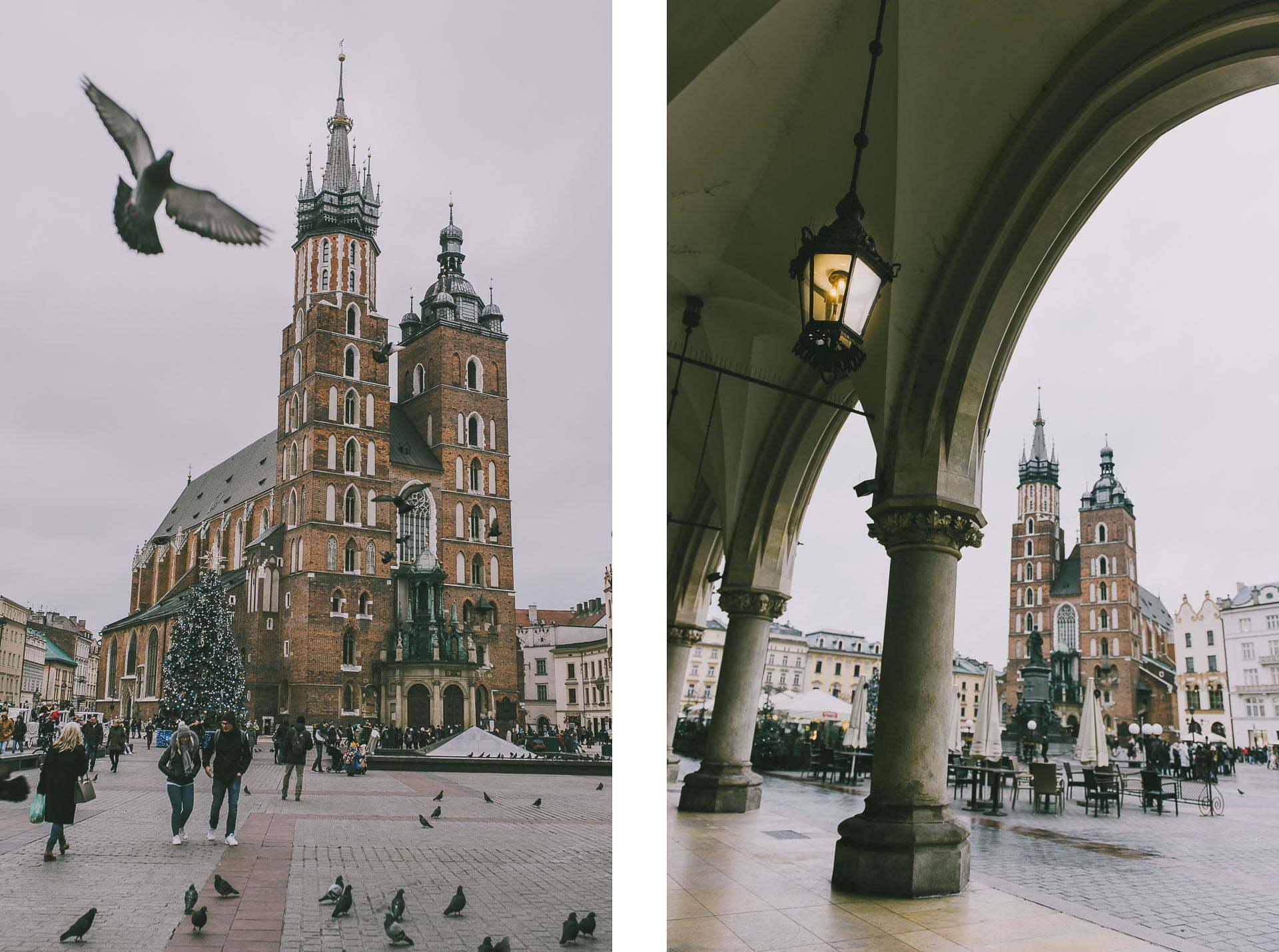 Ciekawe miejsca nazdjęcia wKrakowie - Główny Rynek