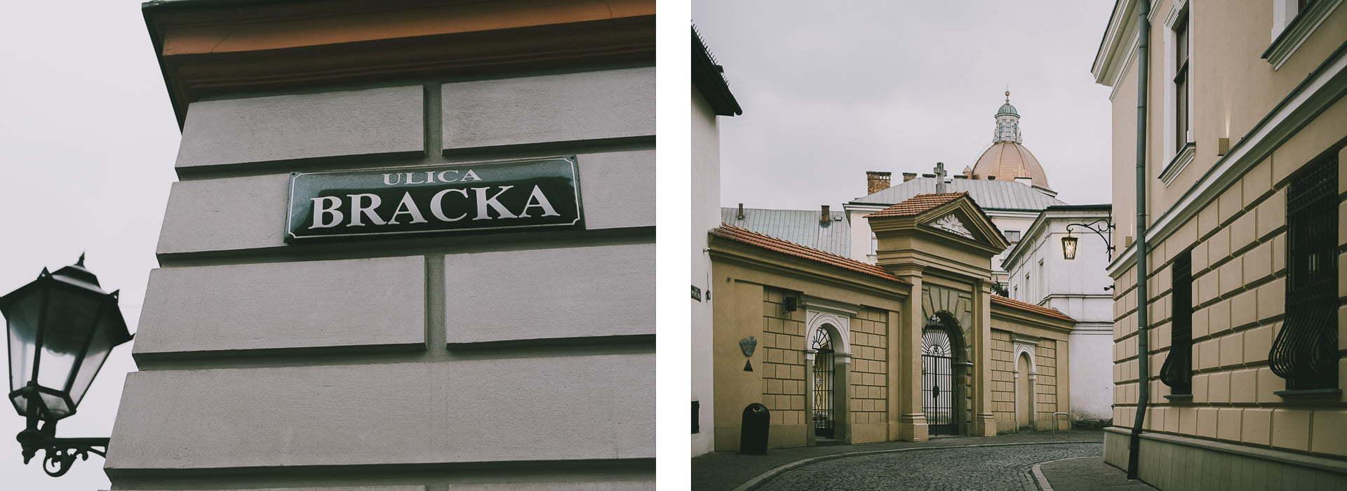 Ciekawe miejsca nazdjęcia wKrakowie - Bracka