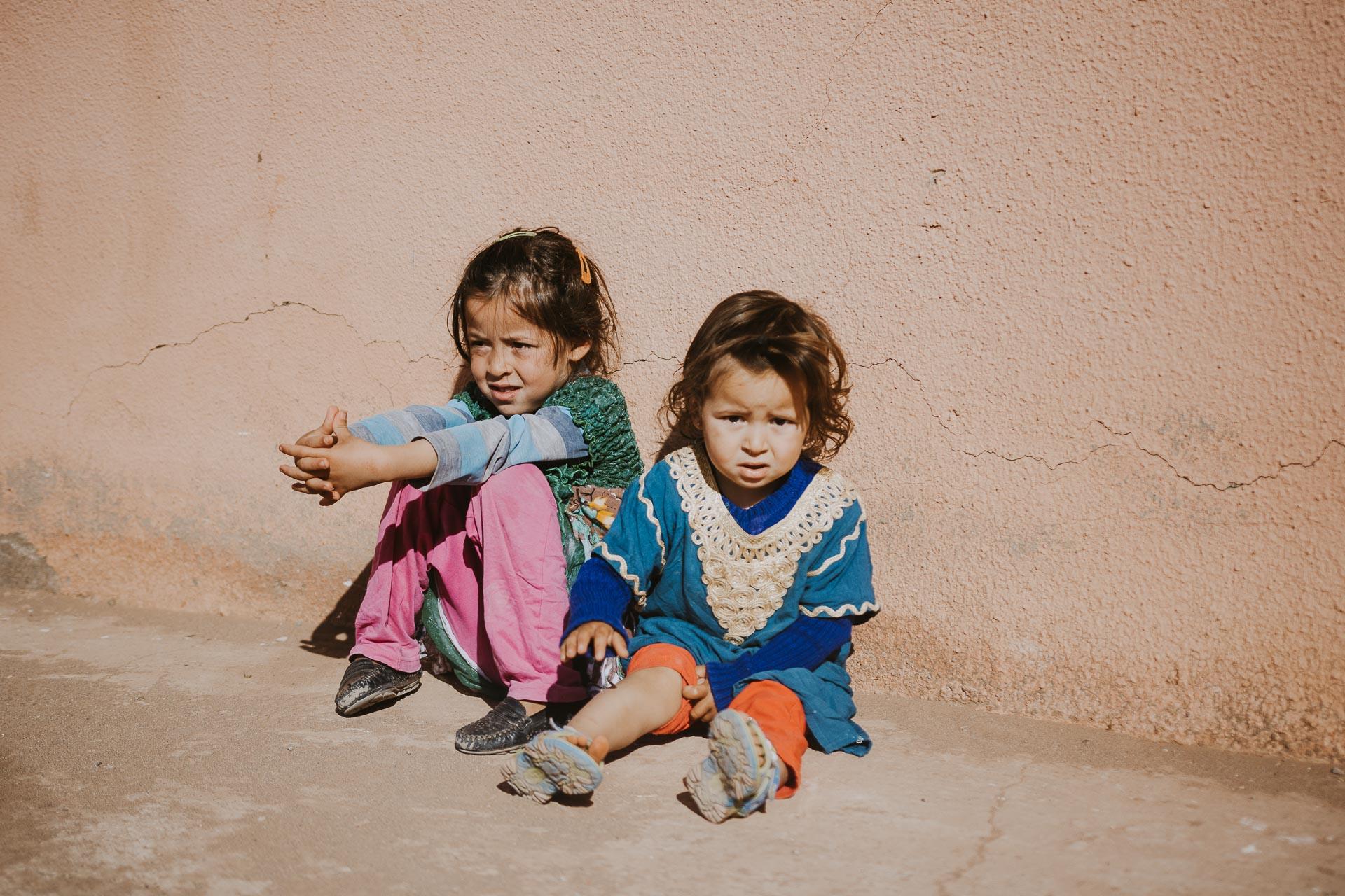 Kazby iksary Maroka - dzieci