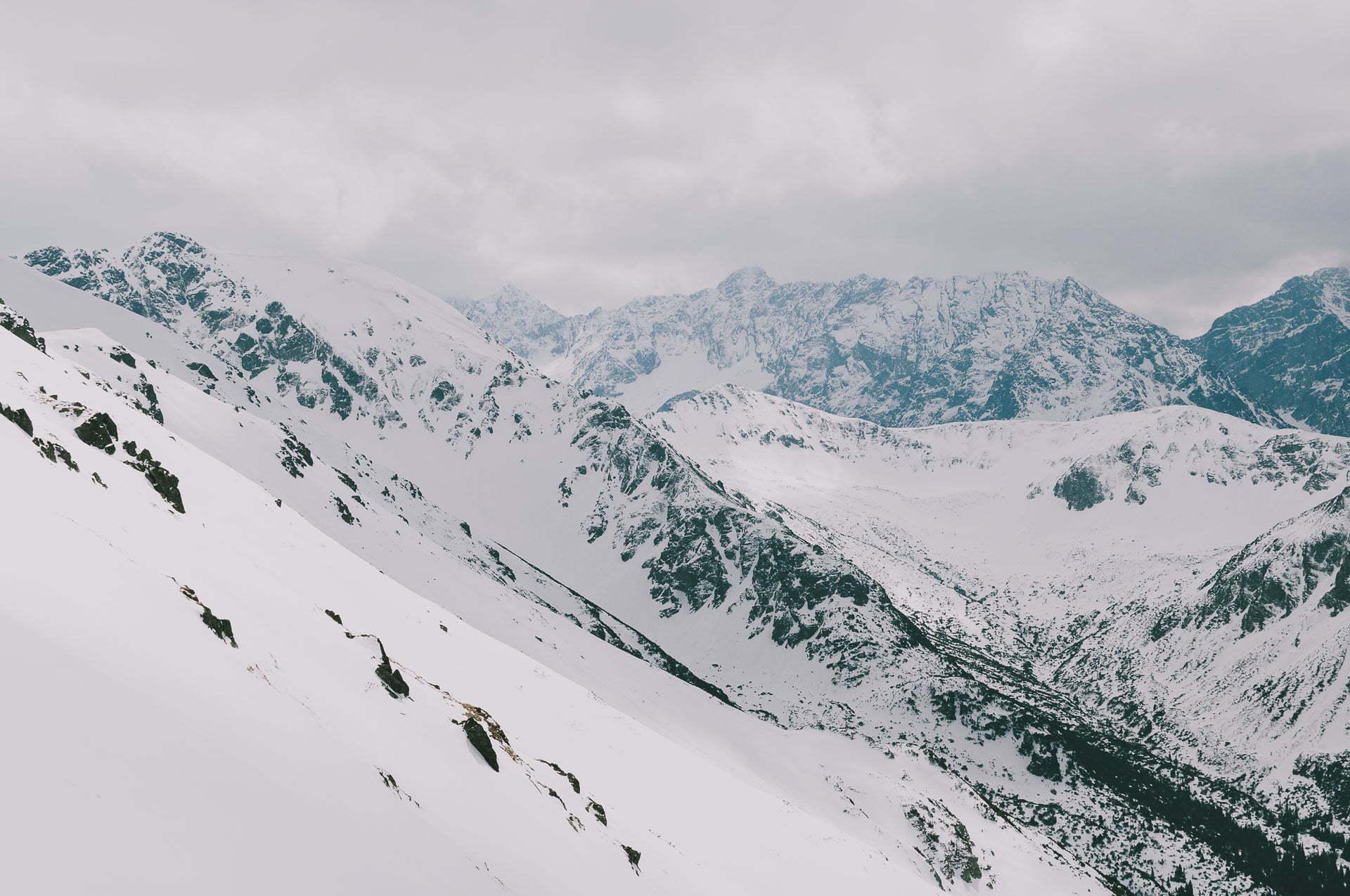 Wielkanoc wpolskich górach - Kasprowy Wierch