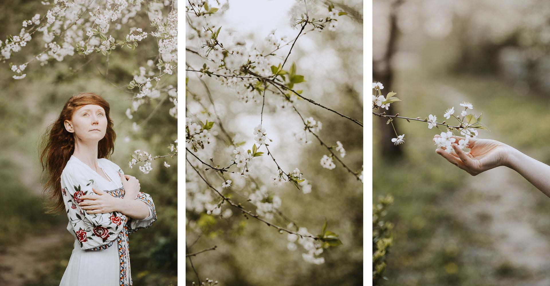 Wiosenne zdjęcia - portret