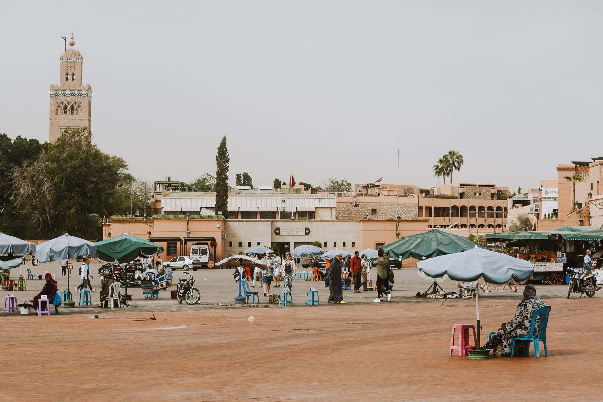 Marrakesz wjeden dzień - plac Dżamaa al-Fina