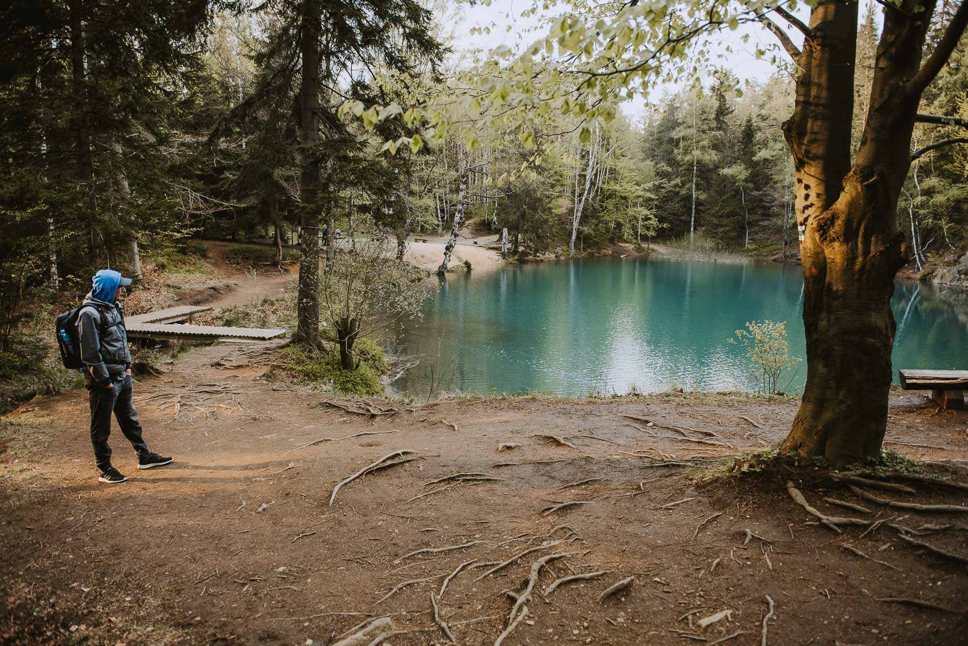 Miejsca, które warto zobaczyć wPolsce - kolorowe jeziorka