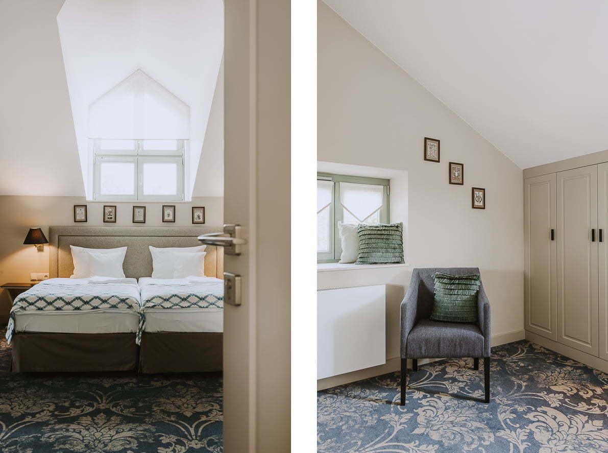 Pałac Rozalin – hotel Parkowa Sypialnia