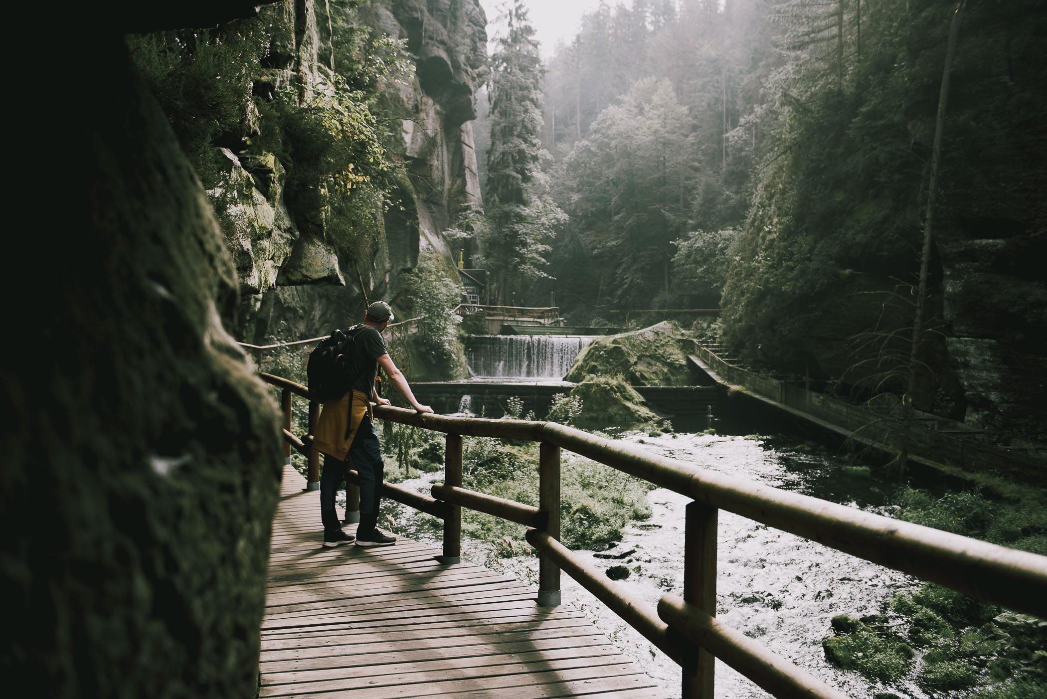 Doświadczanie atrakcji Czeskiej Szwajcarii