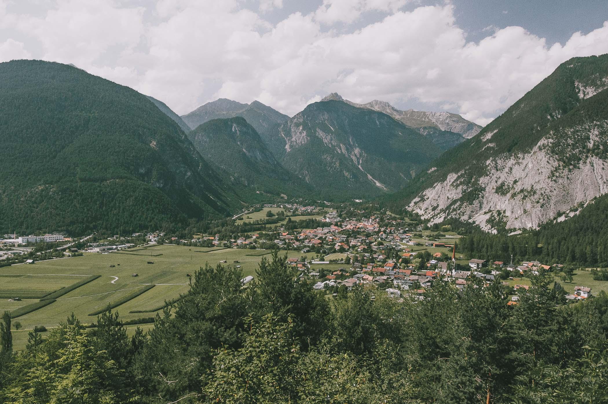 Bawaria - panorama Alpy