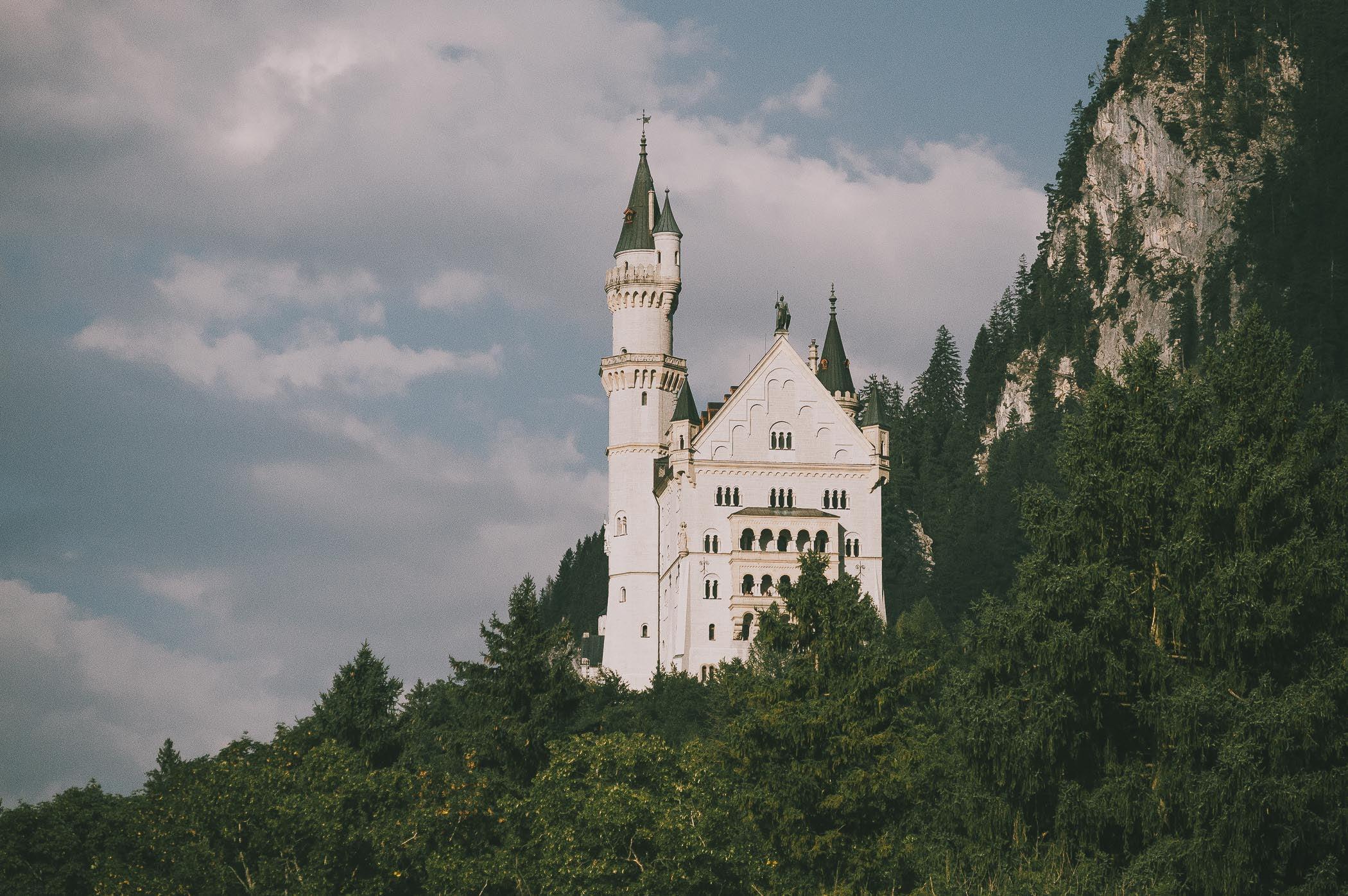 Zamek Neuschwanstein wBawarii.