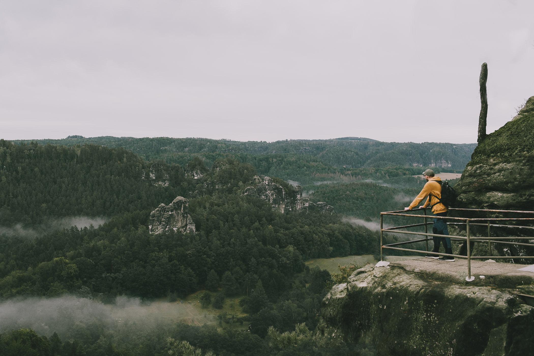 Niemcy, Saksońska Szwajcaria - Panorama