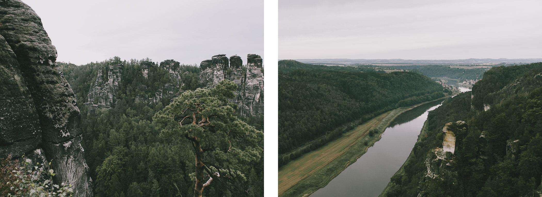 Niemcy, Saksońska Szwajcaria – Most Bastei