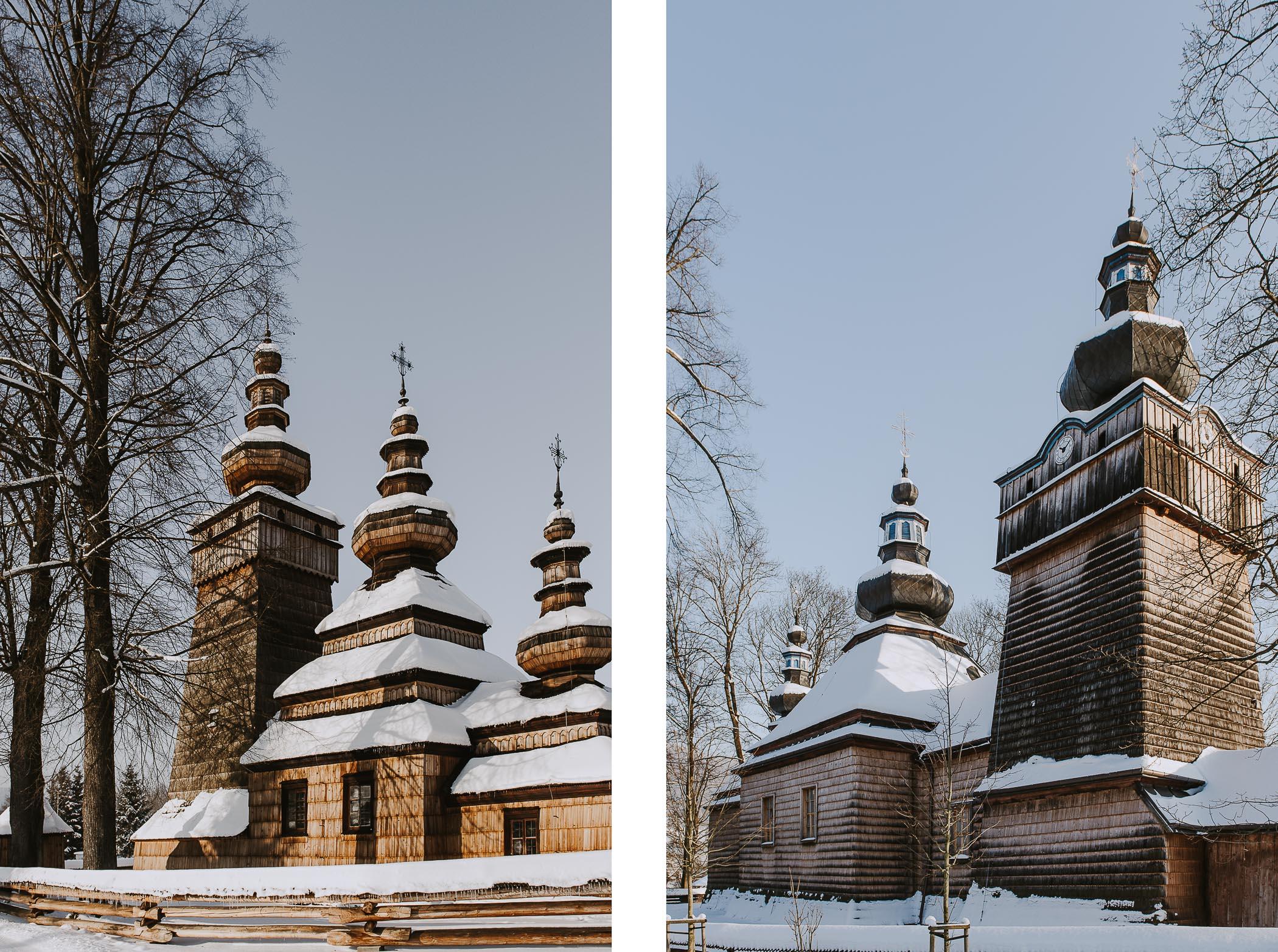 Beskid Niski zimą w3 dni – atrakcje cerkwie