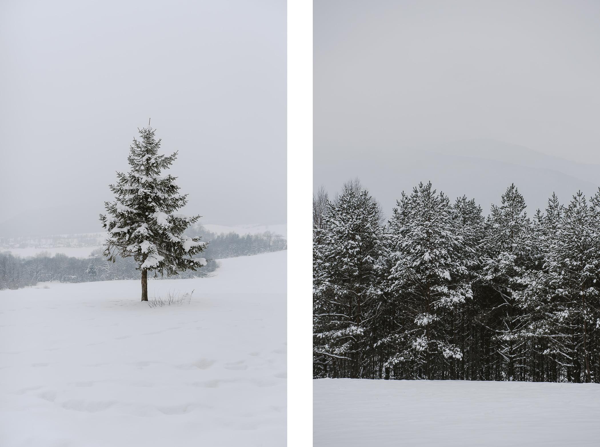 Beskid Niski zimą w3 dni