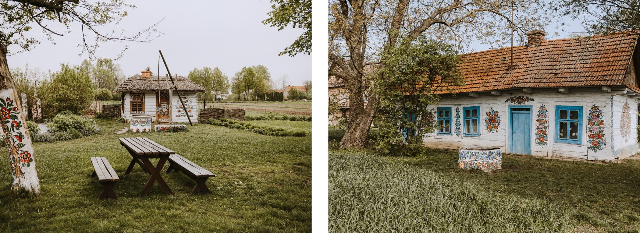 Malownicze wsie wPolsce - Zalipie