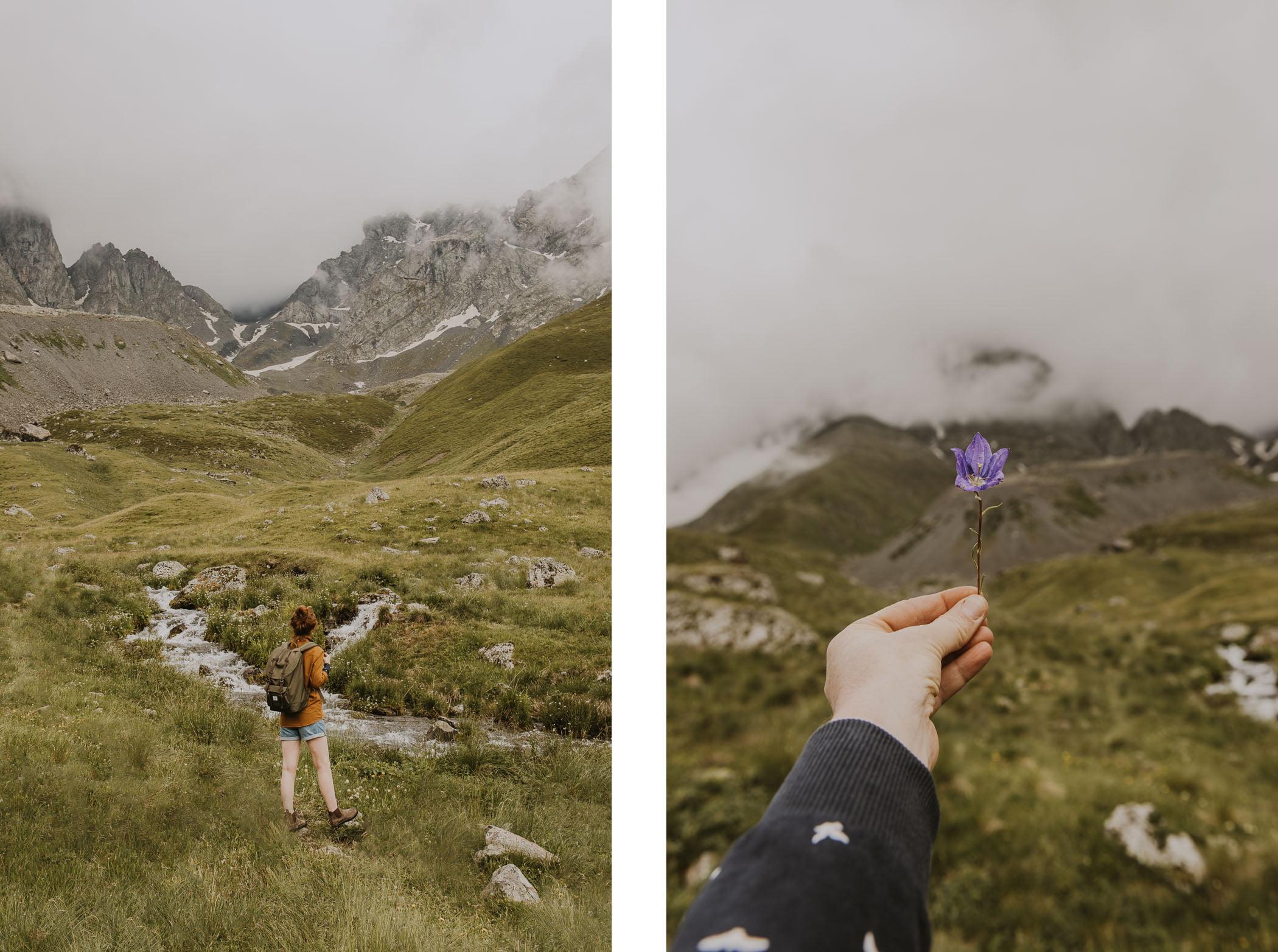 Gruzja - Dolina Juty - masyw Chaukhi