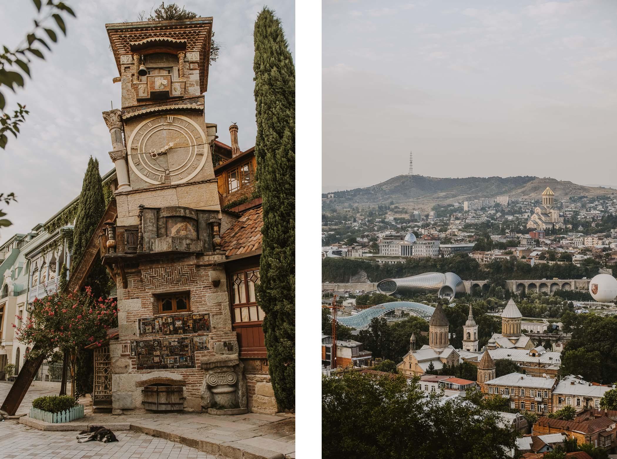 Klimatyczne Tbilisi wdwa dni