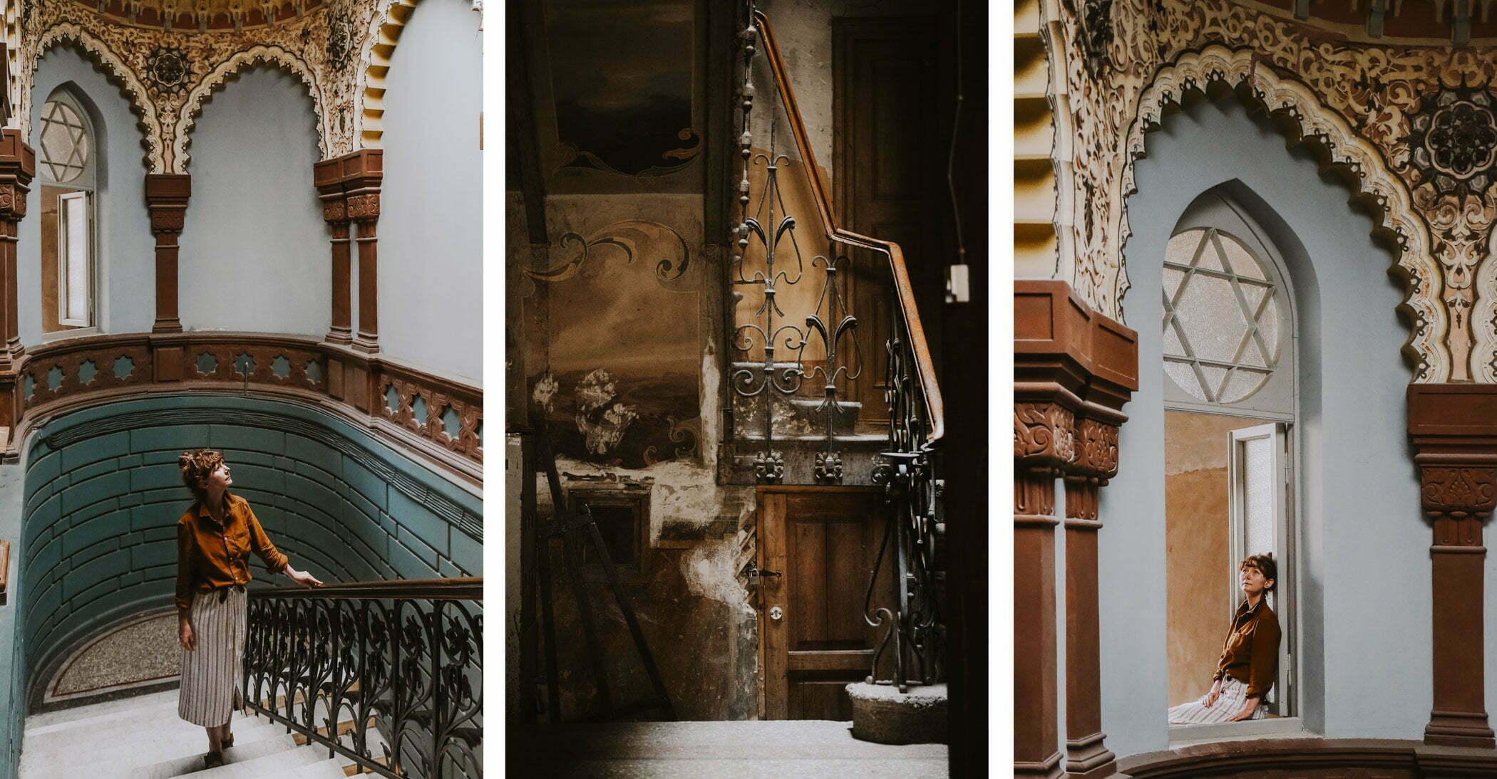 Tbilisi - stare kamienice