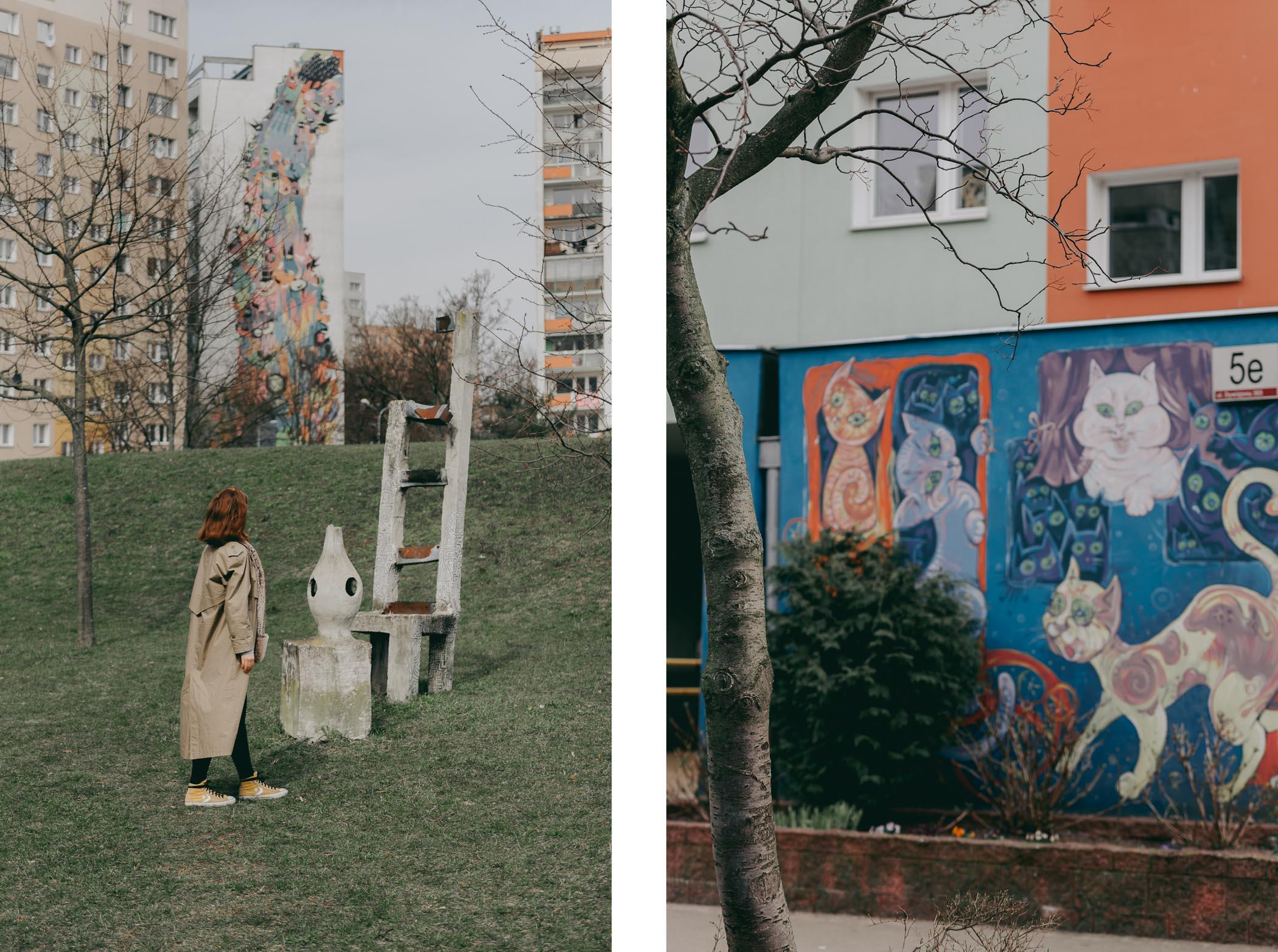 Przewodnik poGdańsku - Zaspa murale